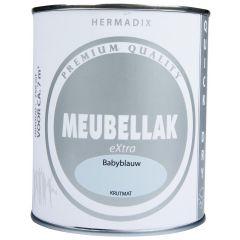 Hermadix meubellak extra babyblauw krijtmat - 750 ml.