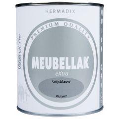 Hermadix meubellak extra grijsblauw krijtmat - 750 ml.