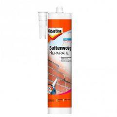 Alabastine buitenvoegreparatie donkergrijs - 310 ml.