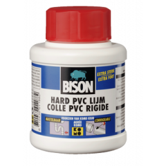 Bison hard PVC lijm - 250 ml.