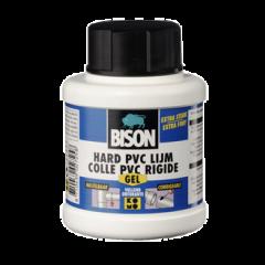 Bison hard PVC lijm gel - 250 ml.