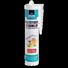 Bison polystyreen schuimlijm - 470 gram