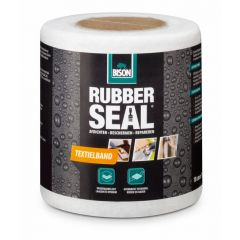 Bison rubber seal textielband 10 cm. x 10 meter