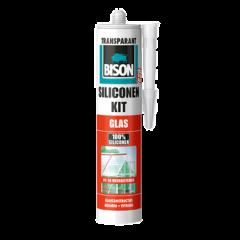 Bison siliconenkit glas transparant - 310 ml.