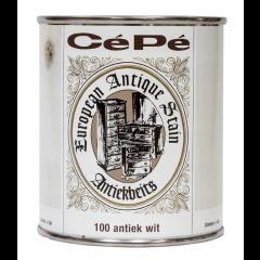 Cépé antiekbeits classic lijn nr. 100 antiek wit - 500 ml.
