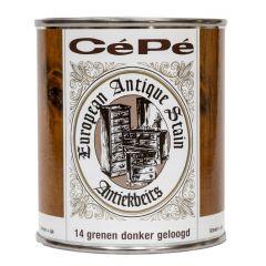 Cépé antiekbeits nr. 14 classic lijn grenen donker geloogd - 500 ml.