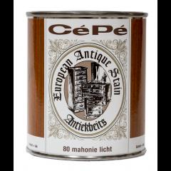 Cépé antiekbeits classic lijn nr. 80 mahonie licht - 500 ml.