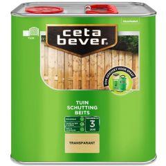 Cetabever schuttingbeits transparant - 2,5 liter