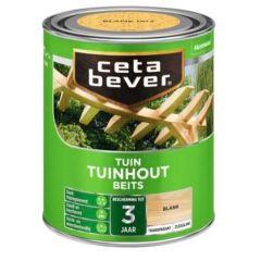 Cetabever tuinbeits transparant zijdeglans teak 085 - 750 ml.
