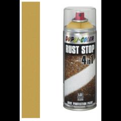 Dupli-Color rust stop 4-in-1 goud - 400 ml