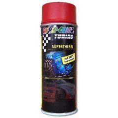 Dupli-Color supertherm hittebestendige lak rood - 400 ml.
