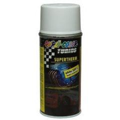 Dupli-Color supertherm hittebestendige lak wit - 400 ml.