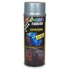 Dupli-Color supertherm hittebestendige lak zilver - 400 ml.