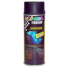 Dupli-Color supertherm hittebestendige lak zwart - 400 ml.