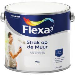 Flexa strak in de lak watergedragen zijdeglans pareltaupe - 750 ml.