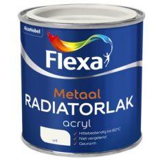 Flexa acryl radiatorlak wit - 250 ml.