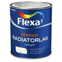 Flexa radiatorlak wit - 250 ml.