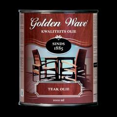 Golden Wave teak olie - 1 liter