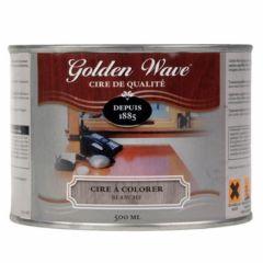 Golden Wave kleurwax wit - 500 ml