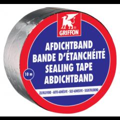 Griffon afdichtband aluminium - 10m x 5cm
