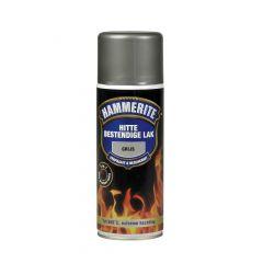 Hammerite hittebestendige lak mat grijs - 400 ml.
