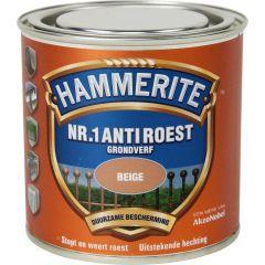 Hammerite nr.1 anti roest grondverf beige - 250 ml.