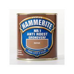 Hammerite nr.1 anti roest grondverf beige - 500 ml.