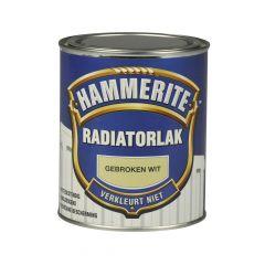 Hammerite radiatorlak gebroken wit - 250 ml.