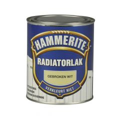 Hammerite radiatorlak gebroken wit - 750 ml.