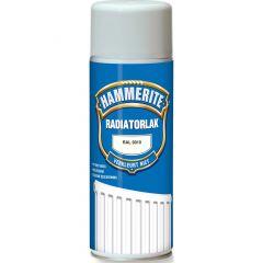 Hammerite radiatorlak verspuitbaar ral 9010 - 400 ml.