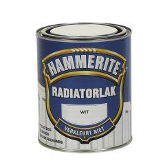 Hammerite radiatorlak wit - 750 ml.