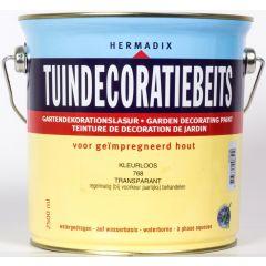Hermadix tuindecoratiebeits kleurloos - 2,5 liter