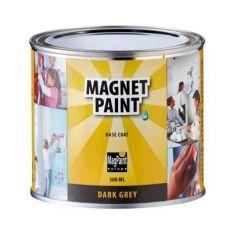 MagPaint magneetverf donkergrijs - 500 ml