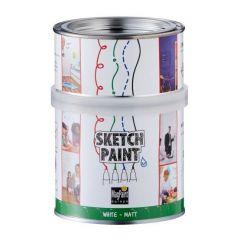 Magpaint SketchPaint wit mat - 500 ml