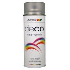 Motip deco alkyd zijdeglans blanke lak - 400 ml.