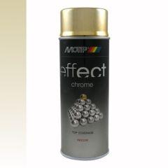 Motip/Dupli-Color deco effect chroomlak goud - 400 ml.