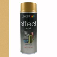 Motip/Dupli-Color deco effect metallic lak goud - 400 ml.