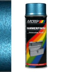 Motip hamerslag lak blauw - 400 ml.