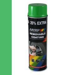 Motip removable coating / verwijderbare film hoogglans groen (04305) - 500 ml.