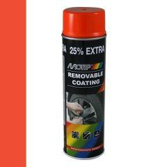Motip removable coating / verwijderbare film hoogglans oranje (04306) - 500 ml.