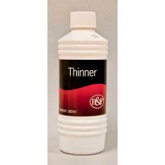 P&P thinner - 500 ml.