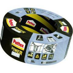 Pattex power tape grijs - 50 meter
