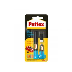 Pattex secondelijm plastics - 2 gram