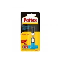 Pattex secondelijm super gel - 3 gram
