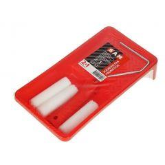 SAM lakset voor alkyd (2 viltrollers 10 cm. + 1 roller gratis)