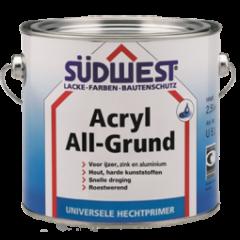 Südwest acryl all-grund U51 hechtprimer zwart - 375 ml.