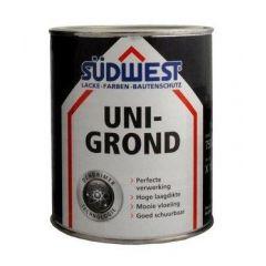 Südwest uni-grond X18 grondverf grijs - 375 ml.