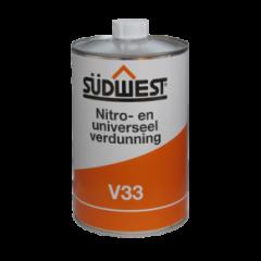 Südwest V33 universeel verdunner - 1 liter