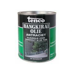 Tenco bangkirai olie antraciet - 1 liter