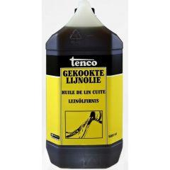 Tenco gekookte lijnolie - 5 liter